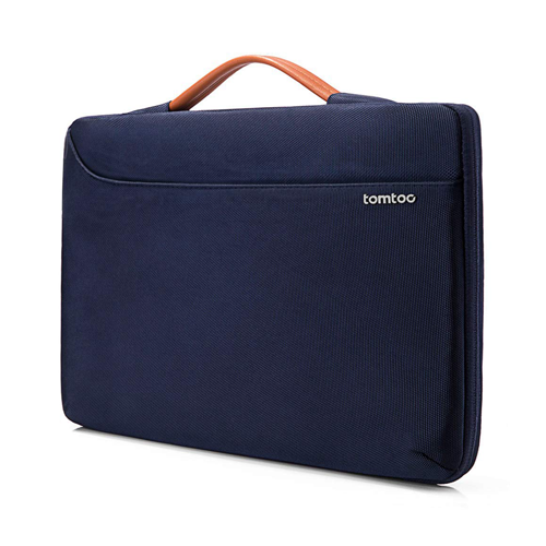 Túi chống sốc Macbook Pro 16 inch Tomtoc Spill-Resistant Dark Blue